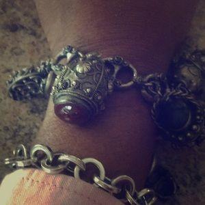 Jewelry - Vintage Etruscan Italian Charm Bracelet  Charm